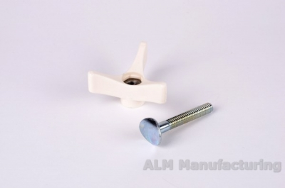 ALM FL198 Handle finger wheels & bolts