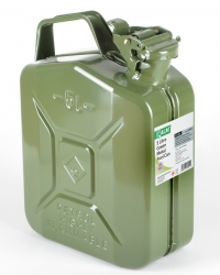ALM FCG05 5L Green Steel Fuel Can